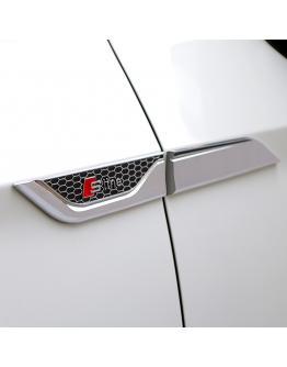Audi Fender Emblem Badge car accessories