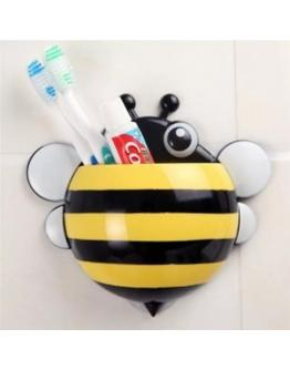 Bee shaped toothbrush holder