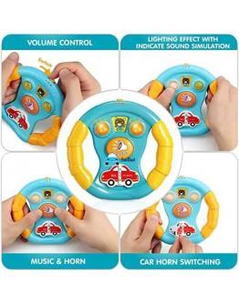 Kids Music steering wheel Toy