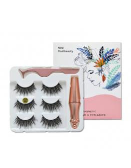 Eye Lashes Three Magnet Set women cosmetics make up