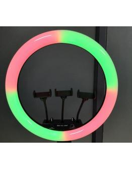 """18"""" RGB Ring Light LED Ring Light  Stand for Live Streaming Makeup Photography Lighting"""