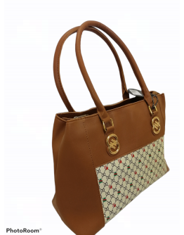 Brown hand bag for women